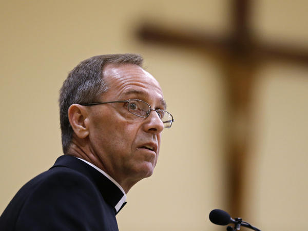 """Cathedral High School leadership in Indianapolis says Archbishop Charles Thompson issued """"direct guidance"""" that the school fire a teacher in a same-sex marriage or forfeit its Catholic identity."""