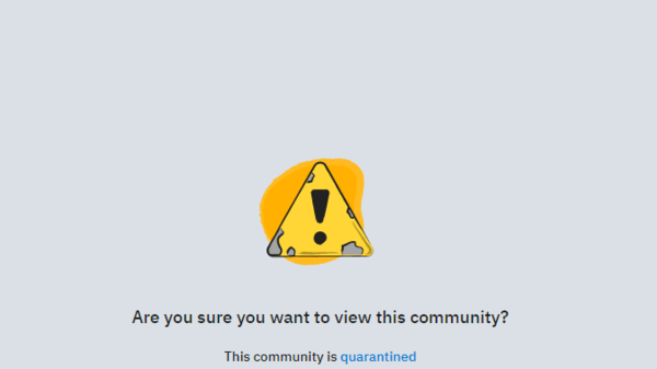 Reddit has restricted access to a popular pro-Trump community forum over threats of violence directed toward officials and police in Oregon, Reddit announced on Wednesday.