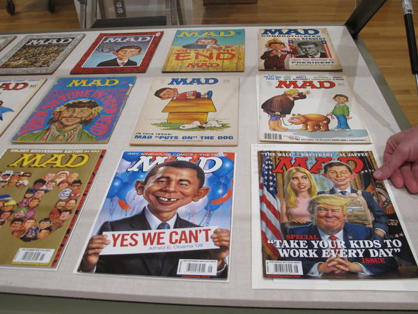 A 2018 exhibit at the Billy Ireland Cartoon Library & Museum at Ohio State University celebrated the artistic legacy of <em>MAD</em> magazine.