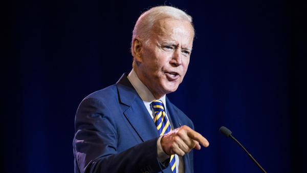 Former Vice President Joe Biden is laying out a foreign policy vision that speaks to domestic economic concerns on the minds of voters, while assailing President Trump's handling of international affairs.