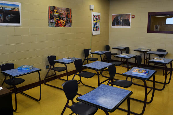 The Fayette County school system runs regular classes for the young people incarcerated at the Fayette Regional Juvenile Detention Center in Lexington, Ky.