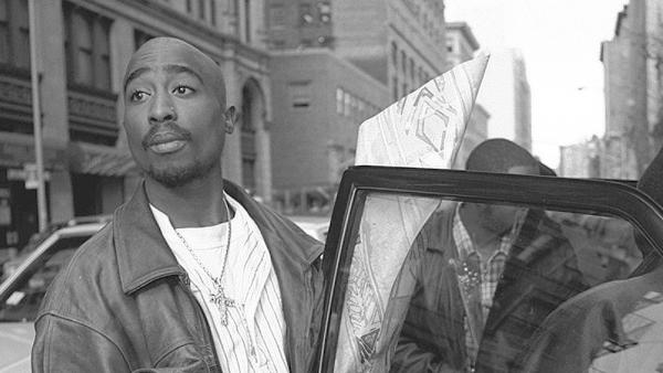 Tupac Shakur, photographed in New York on Nov. 29, 1994.
