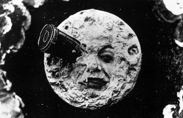 Georges Méliès' 1902 film, <em>A Trip to the Moon, </em>was the first motion picture to visit the moon — and one of the first films with a plot.
