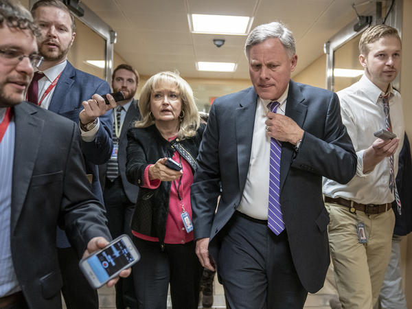 "Senate intelligence committee Chairman Richard Burr, R-N.C., praised the work of state and local election officials in the past few years, but said, ""There is still much work that remains to be done."""