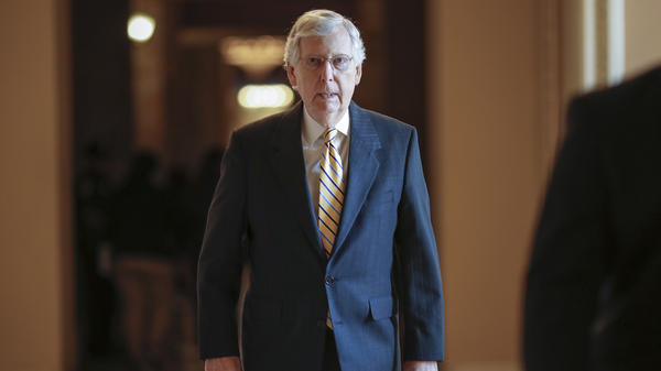 Senate Majority Leader Mitch McConnell, R-Ky., urged Republicans to back the budget and debt deal, arguing it was the best compromise his party could get in divided government.
