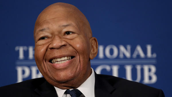 House Oversight Committee Chairman Elijah Cummings, D-Md., speaks at the National Press Club in Washington, D.C., on Wednesday.