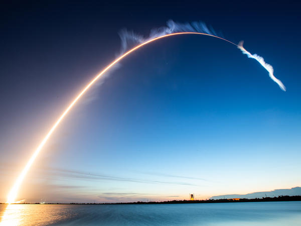A ULA Atlas V rocket carrying a U.S. Air Force Space and Missile Systems Center mission launched Thursday at Kennedy Space Center in Florida.