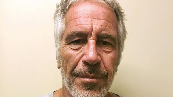 This March 28, 2017, photo, provided by the New York State Sex Offender Registry, shows Jeffrey Epstein. Epstein died by apparent suicide while awaiting trial on sex trafficking charges.