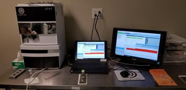 Ionization Labs Cann ID testing module.