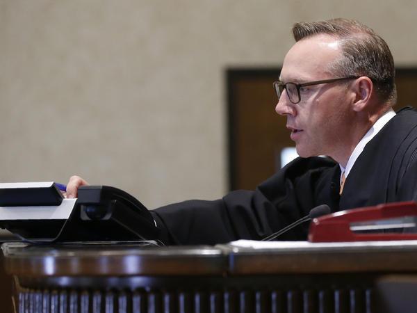 Judge Thad Balkman will rule Monday in the Johnson & Johnson opioid trial.