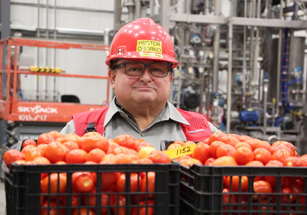 Hector Osorno is the Kraft Heinz Ketchup Master, whose job it is to make sure around 70% of the ketchup sold in America tastes the way it should.