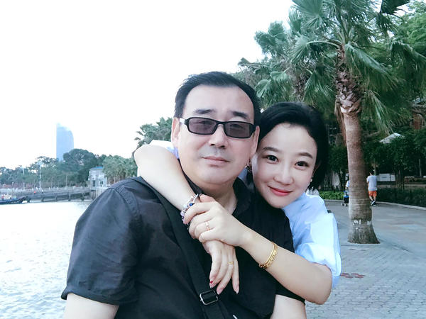 """The Australian government said on Tuesday that it was """"very concerned and disappointed"""" that Yang Hengjun, shown with wife Yuan Xiaoliang, had been formally arrested in China on suspicion of espionage."""