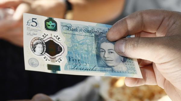 The pound was long the symbol of Britain's economic might. The chaos surrounding the country's 2016 decision to leave the European Union has sent the currency falling sharply.