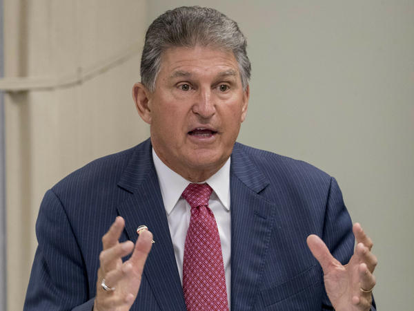 Sen. Joe Manchin, D-W.Va., pictured last month, confirms multiple deaths are being investigated at the Louis A. Johnson VA Medical Center in Clarksburg, W.Va.