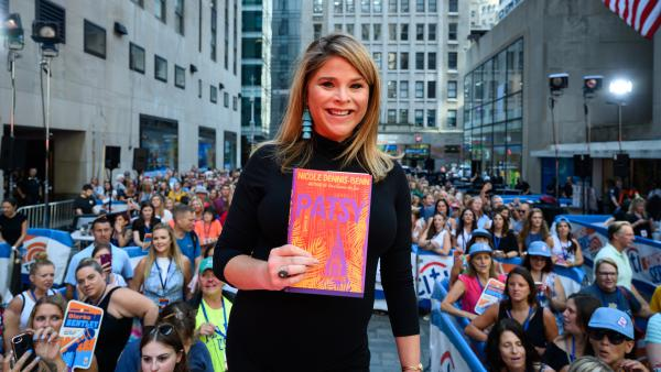 Jenna Bush Hager promotes her August book club pick, <em>Patsy,</em> by Nicole Dennis-Benn.