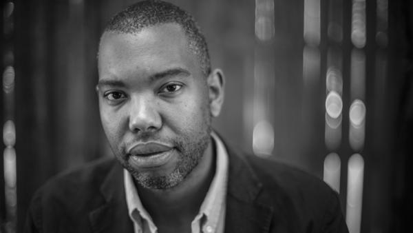 """Ta-Nehisi Coates' 2014 <em>Atlantic Magazine</em> cover story, """"<a href=""""https://www.theatlantic.com/magazine/archive/2014/06/the-case-for-reparations/361631/"""">The Case for Reparations</a>,"""" led to a national conversation about how to reckon with injustices resulting from years of slavery. He won a National Book Award in 2015 for <em>Between the World and Me.</em>"""