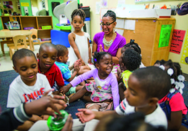One in nine Florida children live in neighborhoods that don't provide access to healthy food, good schools or quality medical care.