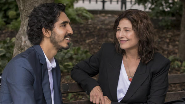 Dev Patel and Catherine Keener star in one episode of Amazon's <em>Modern Love</em>.