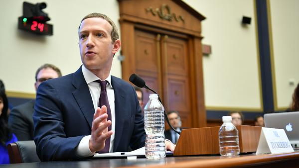 Facebook's Mark Zuckerberg testifies before a House committee on Wednesday. Two days later, the social media giant announced it is launching a section of its site specifically dedicated to news.