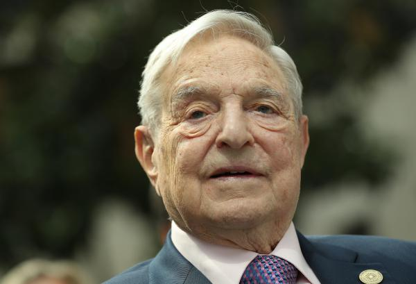 Financier and philanthropist George Soros attends the official opening of the European Roma Institute for Arts and Culture at the German Foreign Ministry in June 2017.
