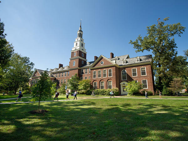 The Draper Building at Berea College in central Kentucky. The college hasn't collected tuition since 1892. Founded by an abolitionist in 1855, it was the first interracial and coeducational college in the South.