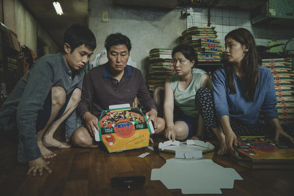 In Bong Joon-ho's movie <em>Parasite</em>, the Kim family — which assembles pizza boxes to get by — resides in a semi-basement apartment originally constructed as a nuclear-fallout bunker.