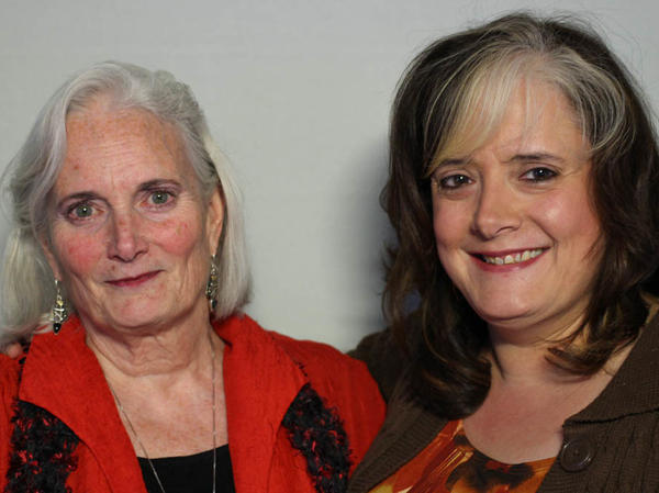 Janie Bush (left) and daughter Tracey Bush at their StoryCorps interview in Dallas on Dec. 8, 2014.