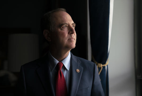 House Intelligence Committee Chairman Adam Schiff, D-Calif., answers questions regarding the public impeachment hearings set to begin on Wednesday. Schiff has been the face of the impeachment inquiry into President Trump.