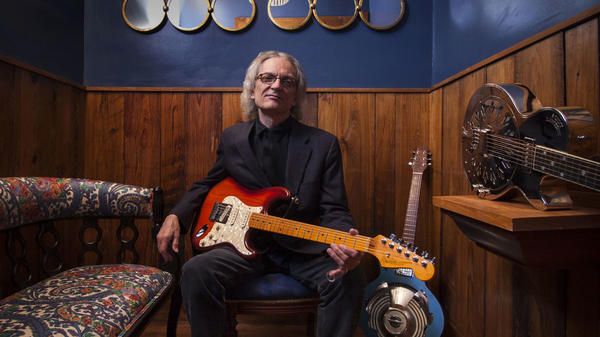 "Listen in for a snippet of Sonny Landreth's live cover of ""While My Guitar Gently Weeps"" from his recent tour with Peter Frampton."