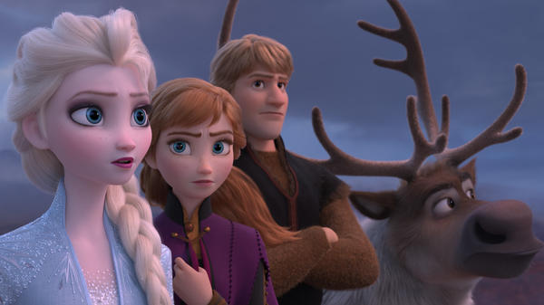 Elsa, Anna, Kristoff and Sven take on a new adventure in <em>Frozen II.</em>