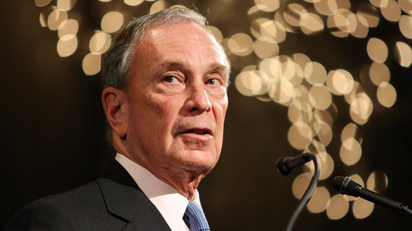 Former New York City Mayor Michael Bloomberg is weighing a 2020 presidential run. He'd join two other wealthy, self-funding Democrats in the primary: John Delaney and Tom Steyer.