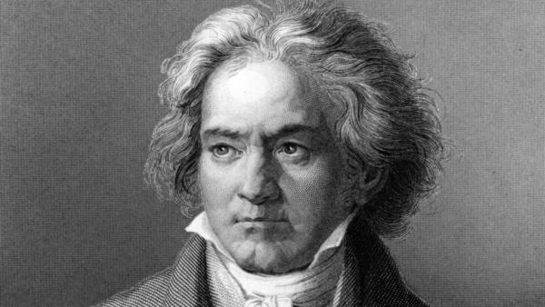 German composer and pianist Ludwig van Beethoven (1770 - 1827), painted by Kloeber circa 1805.