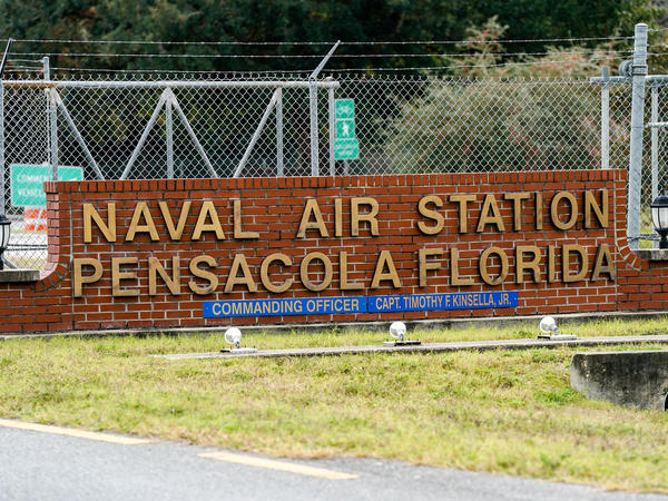 A gunman killed three people and injured eight others at Pensacola Naval Air Station on Friday. It was the second shooting on a U.S. Naval Base in a week.