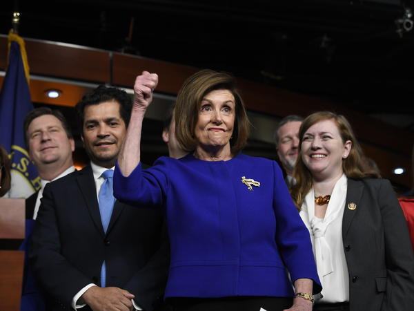 "House Speaker Nancy Pelosi called the altered trade agreement ""much better than NAFTA"" and ""infinitely better than what was initially proposed by the administration."""