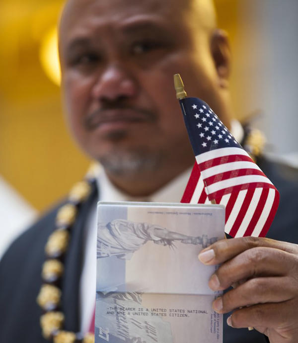 John Fitisemanu, an American Samoan, filed the lawsuit against the U.S. government after he was denied the opportunity to apply for federal government jobs listing citizenship as a requirement.