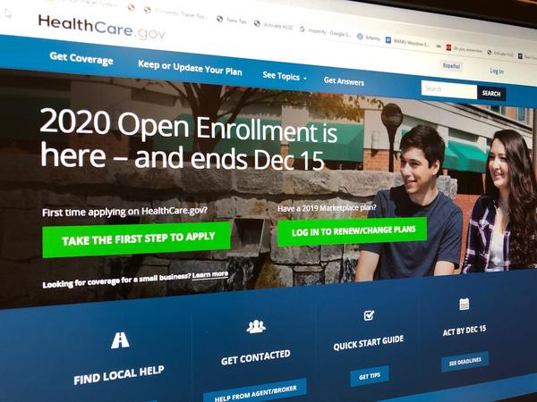 The deadline for the open enrollment period to sign-up on the federal exchanges for health care coverage is Dec. 15
