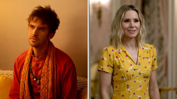 Dan Stevens plays a young man who's haunted by the voices in his head in <em>Legion</em>. Kristen Bell explores what it means to be a good person on<em> The Good Place. </em>