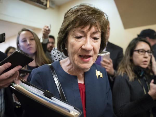 Sen. Susan Collins (R-Maine) announced on Wednesday that she will seek reelection, hoping to win a fifth term as New England's only GOP member in the Senate.