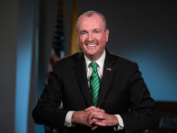 """Gov. Phil Murphy, pictured in March, signed two bills on Wednesday ensuring that former felons can """"once again walk into a voting booth and have a say in our democracy."""""""