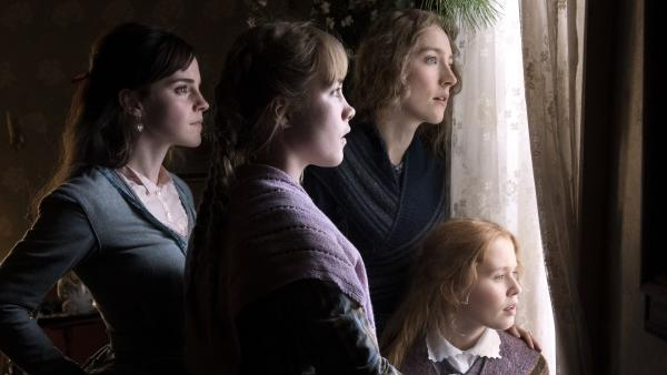 March sisters Meg (Emma Watson), Amy (Florence Pugh), Jo (Saoirse Ronan) and Beth (Eliza Scanlen) return to the screen in a new adaptation of <em>Little Women</em>.