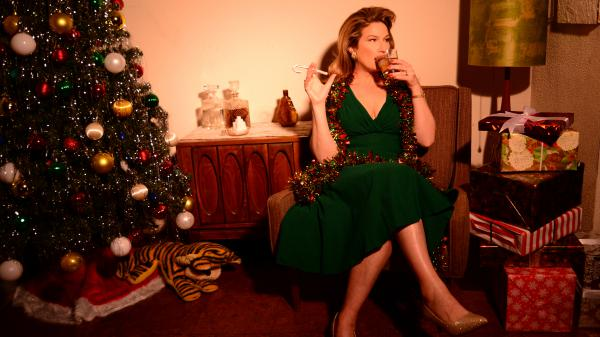 """It's the most nauseating idea in the world: a comedian in a gown leaning against a baby grand without making a joke,"" Ana Gasteyer says. There are plenty of jokes (and a lot of great singing) on her new holiday album."