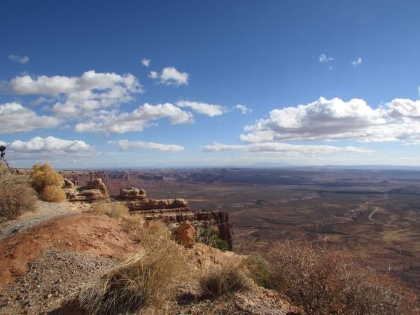 Lawsuits challenging Pres. Donald Trump's decision to cut more than a million acres from Bears Ears National Monument will be heard in a Washington, D.C. courtroom, not in Utah, thanks to a federal judge's Monday ruling. Above is a view from Cedar Mesa.