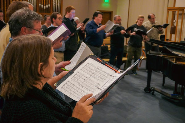 """The Mid-Columbia Mastersingers will hold three performances of """"American Dreamers,"""" a presentation of work written by composers who are also immigrants to the U.S., on January 10, 11 and 12."""