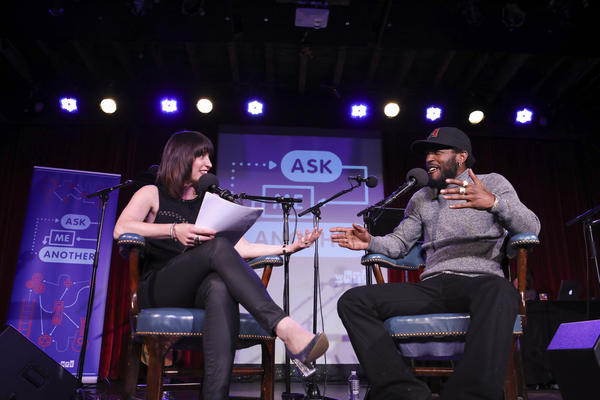 <em>Ask Me Another </em>host Ophira Eisenberg interviews Luke James at the Bell House in Brooklyn, New York.