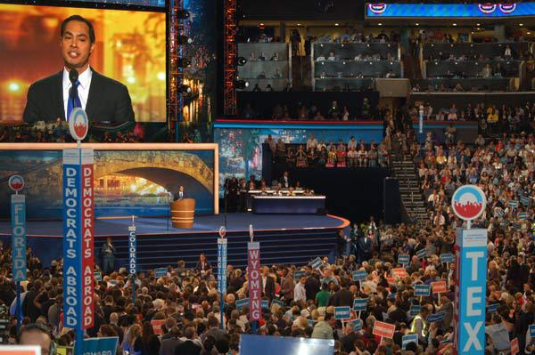 Castro at the Democratic National Convention