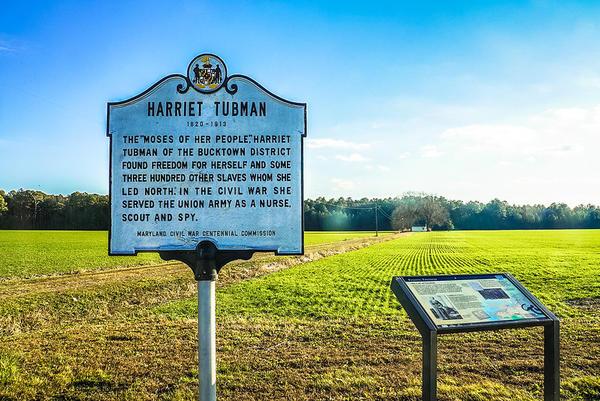 Harriet Tubman Underground Railroad Byway - Maryland, USA