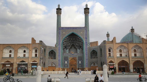 The UNESCO-listed cultural site Naqsh-e Jahan Square in Isfahan, Iran, shown here in 2014, is known for its immense mosques, picturesque bridges and ancient bazaar.