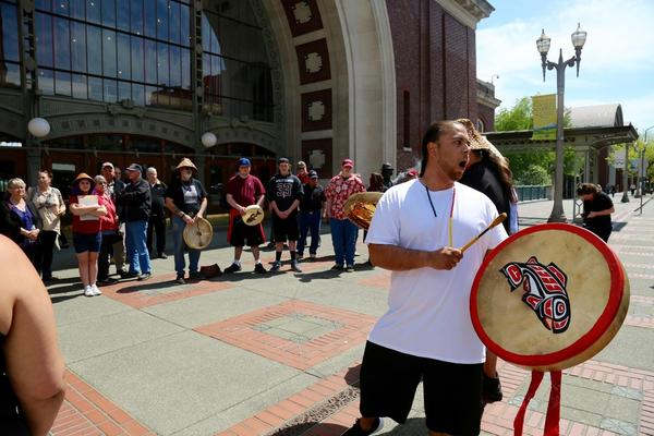 Chinook tribal members and supporters will return to the federal courthouse in Tacoma on Monday for a rally similar to one held there on the same case in 2018.