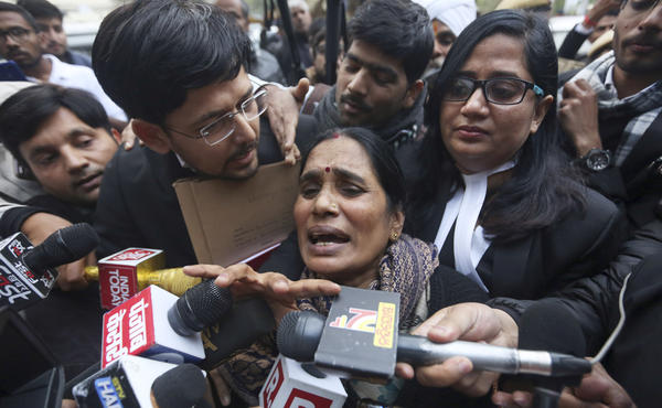 "The mother of the victim of the fatal 2012 gang rape said the ""execution of the four convicts will empower the women of the country,"" on Tuesday in Delhi."
