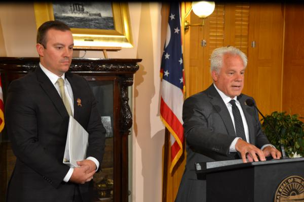 In October, Reps. D.J. Swearingen (R-Huron) and Phil Plummer (R-Dayton) talked about their bill.